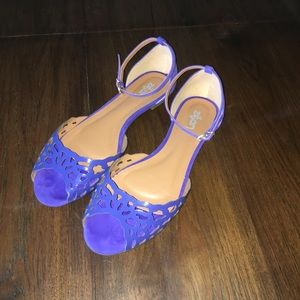 Zilian purple sandals